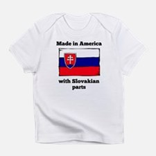 Made In America With Slovakian Parts Infant T-Shir