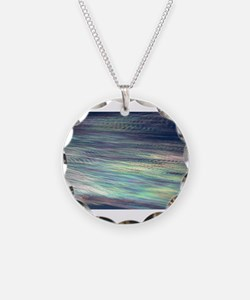 Iridescent Clouds Necklace