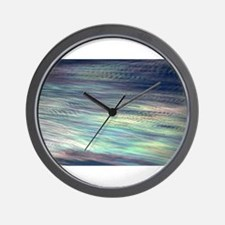 Iridescent Clouds Wall Clock