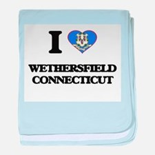 I love Wethersfield Connecticut baby blanket