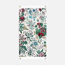 Victorian Floral Design Banner