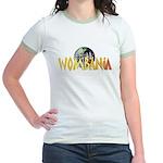 Wombania World Logo II Jr. Ringer T-Shirt