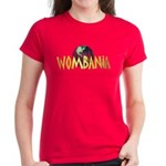 Wombania World Logo II Women's Dark Colored Tee
