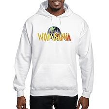 Wombania World Logo II Hoodie