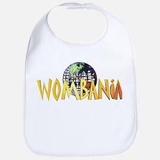 Wombania World Logo II Bib