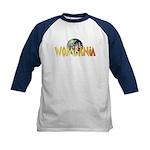 Wombania World Logo II Kids Baseball Jersey