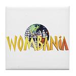 Wombania World Logo II Tile Coaster