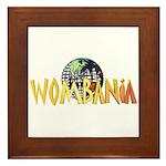 Wombania World Logo II Framed Tile