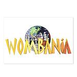 Wombania World Logo II Postcards (Package of 8)