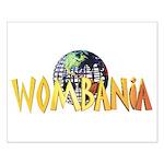 Wombania Logo II Small Poster