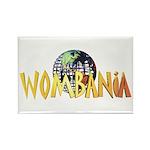 Wombania World Logo II Rectangle Magnet (10 pack)