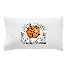 Basketball teamwork Pillow Case