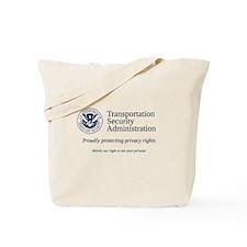 TSA: Privacy Rights Tote Bag