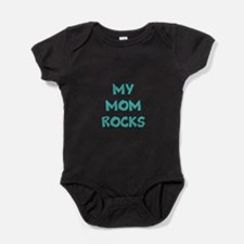 My Mom Rocks Baby Bodysuit
