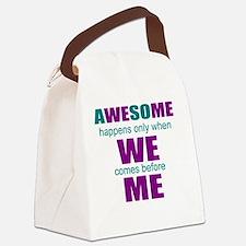 inspirational leadership Canvas Lunch Bag
