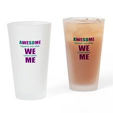 inspirational leadership Drinking Glass