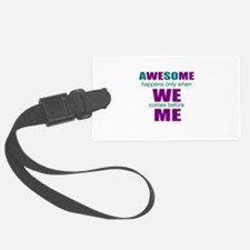 inspirational leadership Luggage Tag