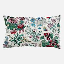 Victorian Floral & Gold Pillow Case