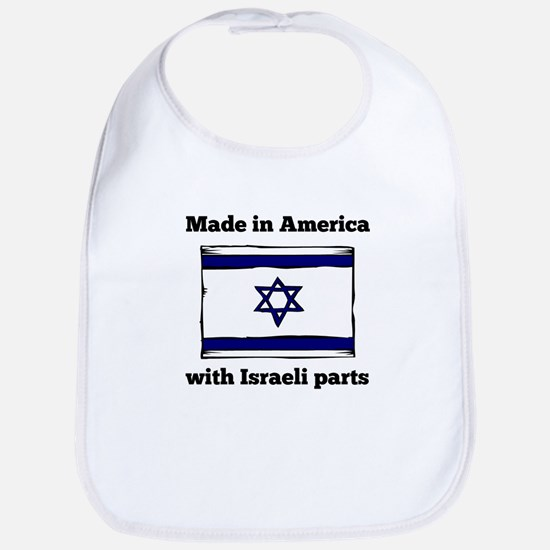 Made In America With Israeli Parts Bib