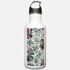 Victorian Floral & Gol Water Bottle