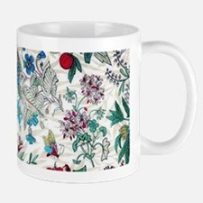 Victorian Floral & Gold Mugs
