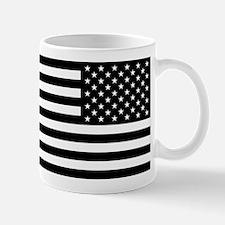 U.S. Flag - Black Backwards Mug