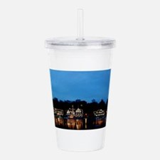 Boathouse Row, Nightti Acrylic Double-wall Tumbler
