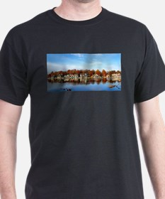 boat house row daytime T-Shirt