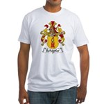 Schopfer Family Crest Fitted T-Shirt