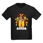 Schopfer Family Crest Kids Dark T-Shirt