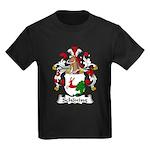 Schoning Family Crest Kids Dark T-Shirt