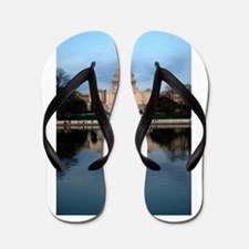 U.S. Capitol Building with Reflection Flip Flops
