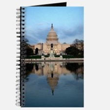 U.S. Capitol Building with Reflection Journal