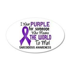 Sarcoidosis MeansWorldToMe2 Wall Decal
