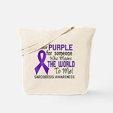 Sarcoidosis MeansWorldToMe2 Tote Bag
