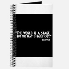The World Is A Stage Journal