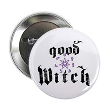 Good Witch Button