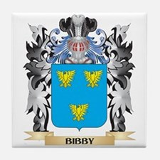 Bibby Coat of Arms - Family Crest Tile Coaster