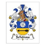 Schonau Family Crest Small Poster