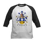 Schonau Family Crest Kids Baseball Jersey