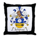 Schonau Family Crest Throw Pillow