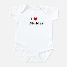 I Love       Mulder Infant Bodysuit