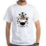 Schoder Family Crest White T-Shirt