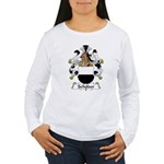 Schoder Family Crest Women's Long Sleeve T-Shirt