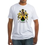Schoch Family Crest Fitted T-Shirt