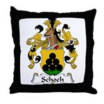 Schoch Family Crest Throw Pillow