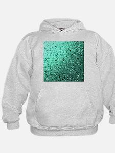 modern digital abstractes pattern in d Hoodie