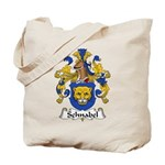 Schnabel Family Crest Tote Bag