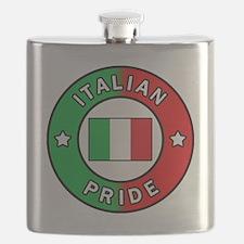 Italian Pride Flask