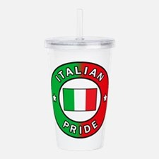 Italian Pride Acrylic Double-wall Tumbler